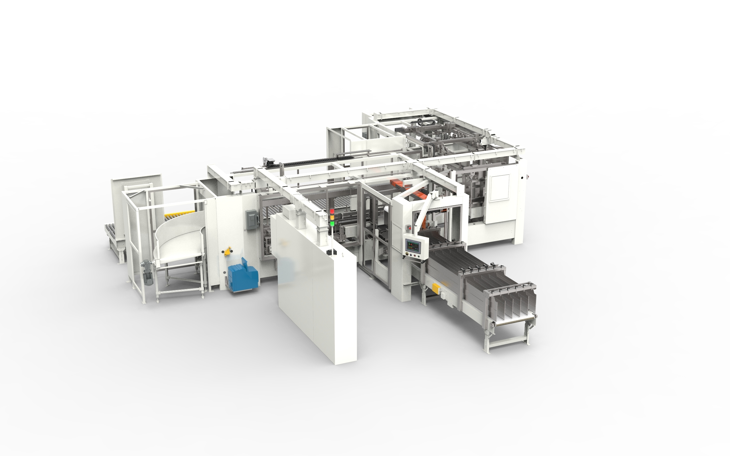 3600 Large Case and Tray Packer - Case & Tray Packing Equipment