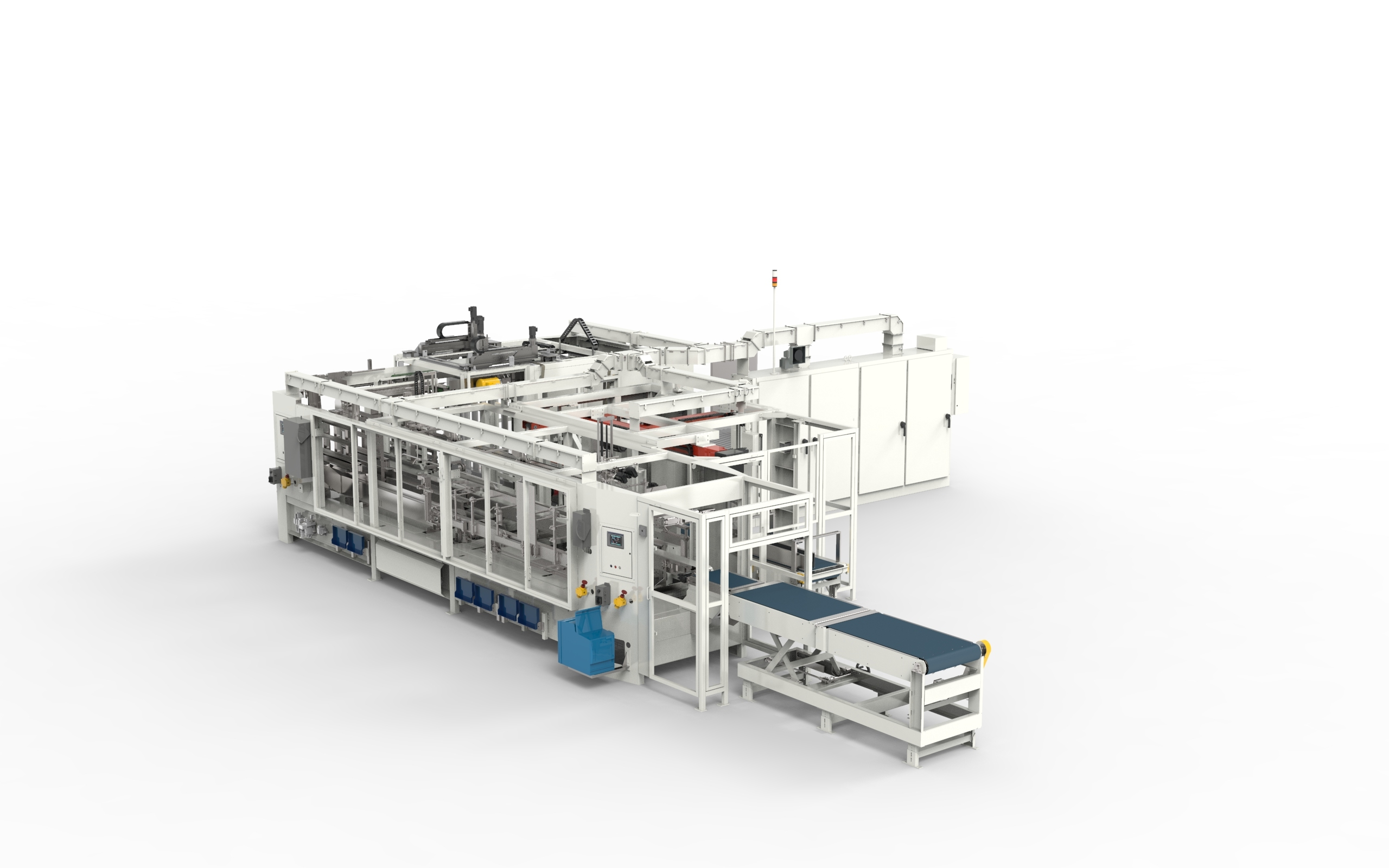 3600HS High Speed Large Case and Tray Packer - Case & Tray Packing Equipment