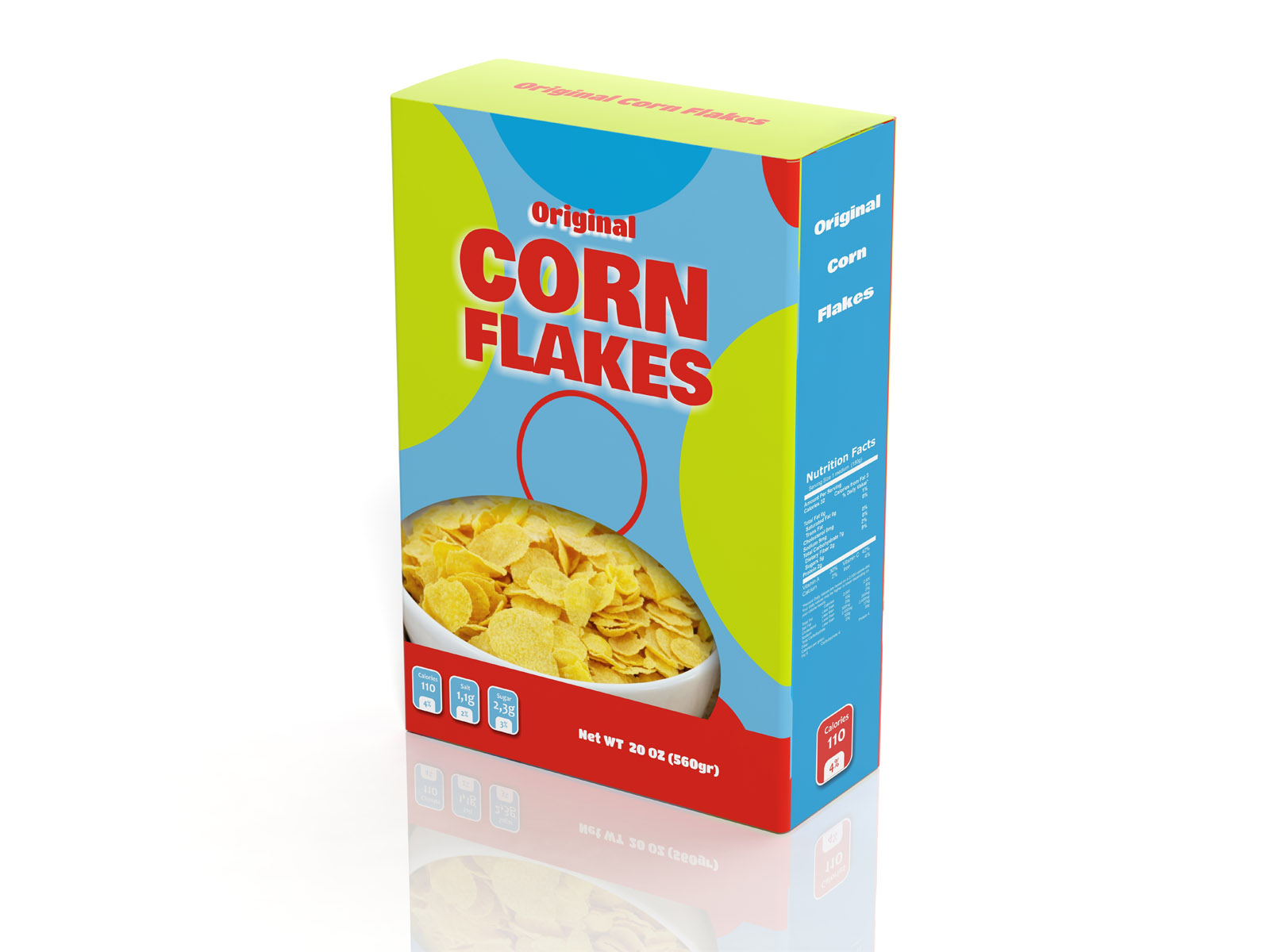 Edson Cereal Box