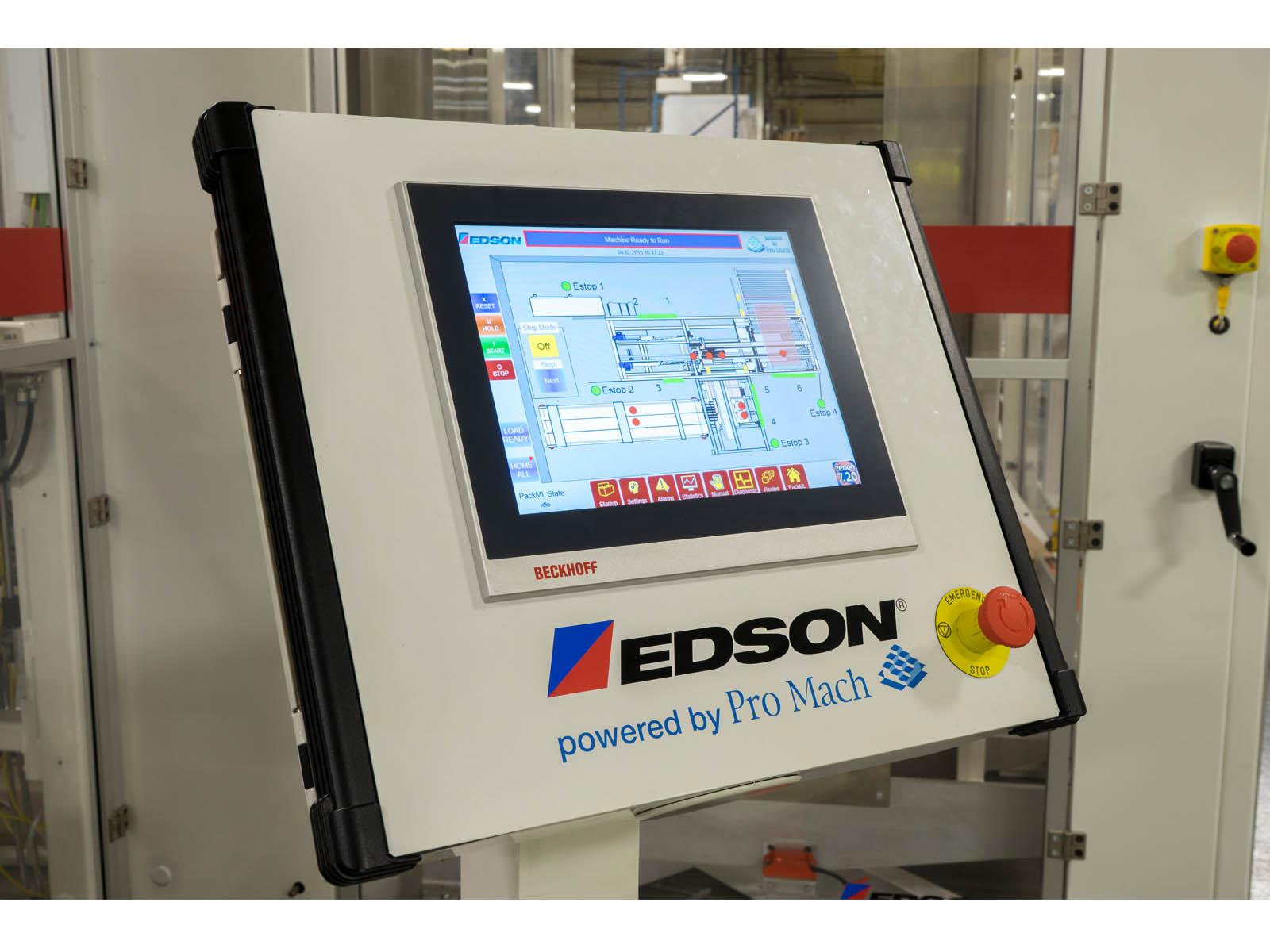 Human Machine Interface HMI - Case Packing Options